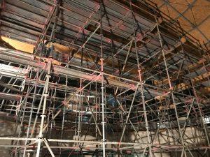 Galileum Solingen - Restarbeiten im Neubau
