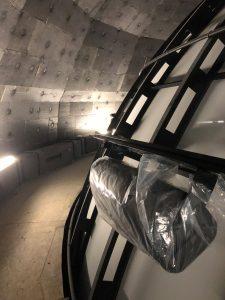 Galileum Solingen - Fertigstellung der Planetariumskuppel