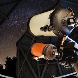 Spiegelteleskop der Sternwarte Solingen