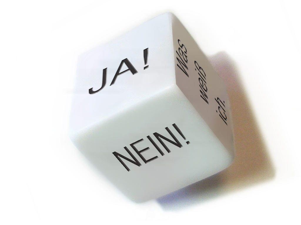 Ja-Nein Würfel