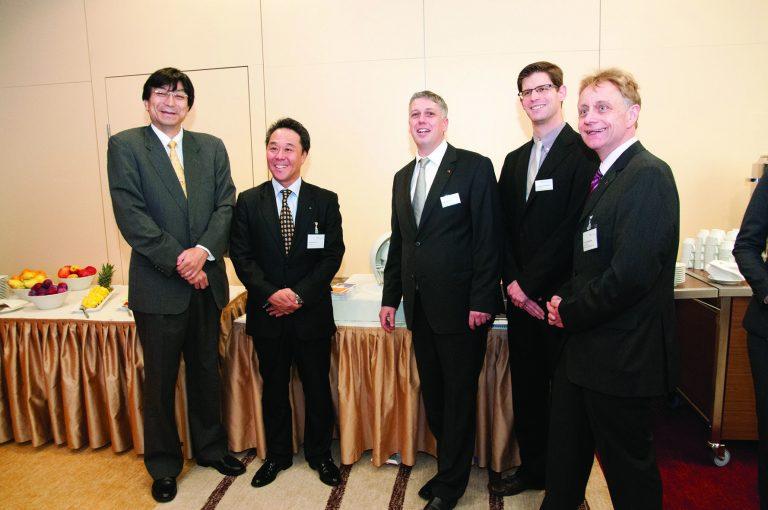 Japanische Delegation informiert sich über das Galileum Solingen