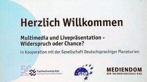 Galileum Solingen - Tagung deutschsprachiger Planetarier Kiel