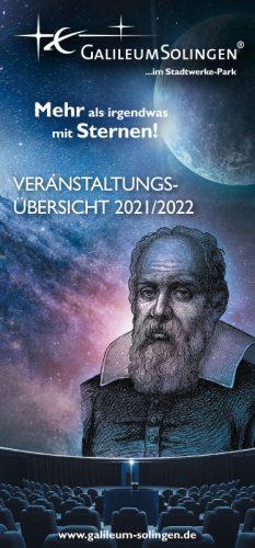 Veranstaltungsübersicht Galileum Solingen 2021/2022