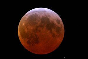Mondfinsternis - Bildnachweis: Peter Stolzen/Galileum Solingen